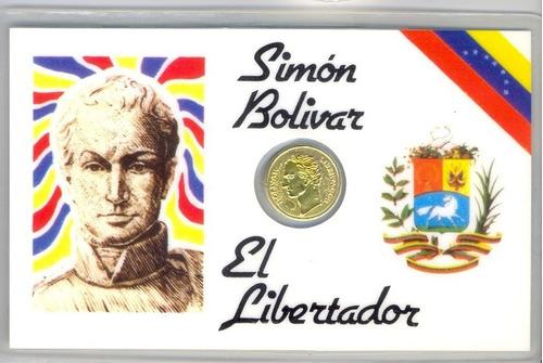 moneda antigua simon bolivar libertador 1830 con baño oro