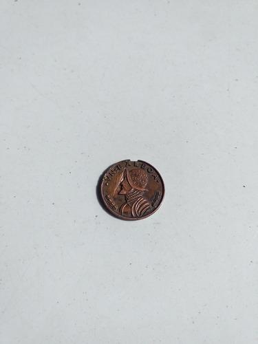 moneda antigua vasco nuñez de balboa de 20.00 balboas edició