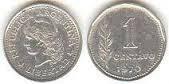 moneda argentina 1 centavo pesos ley regular