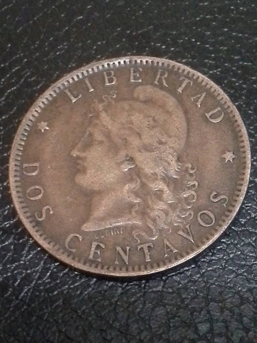 moneda argentina 2 centavos 1894 bc