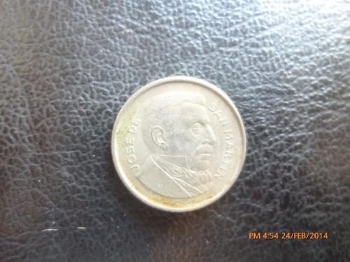 moneda argentina 20 centavos 1956  libertador (126z