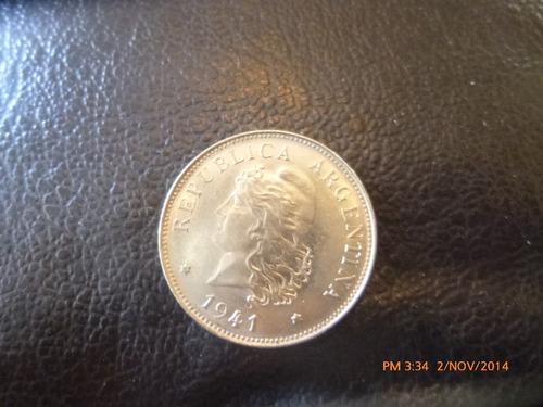 moneda argentina 50 centavos 1941 (37