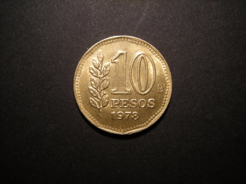 moneda argentina de 10 pesos 1978 excelente estado
