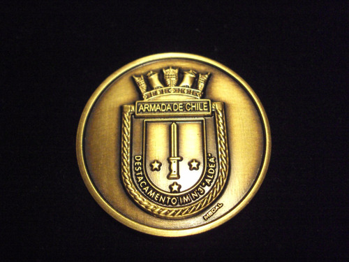 moneda artilleria de marina