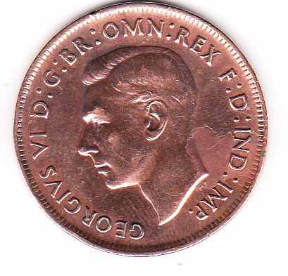 moneda australia 1938 one penny
