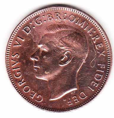 moneda australia 1950 one penny