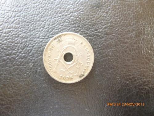 moneda belgica 5 cents 1926 (102z