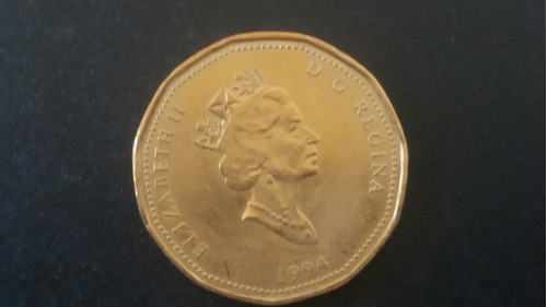 moneda canadá  1 dollar 1994 (917z