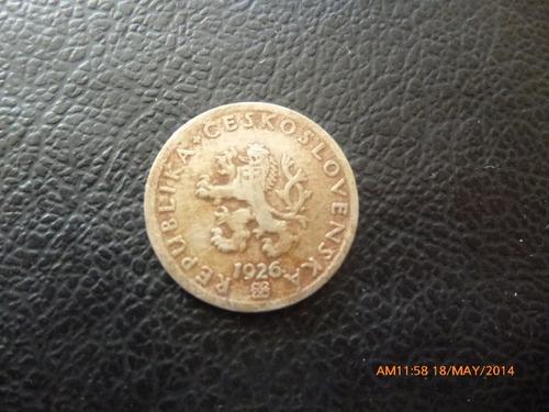 moneda checoslovaquia 1926  20 halerun (a16