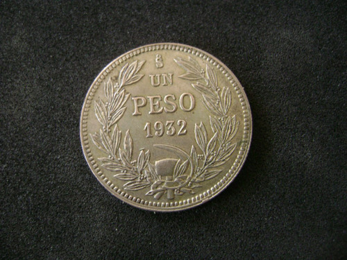 moneda chilena 1 peso de 1932