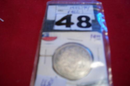 moneda chilena de plata año 1922
