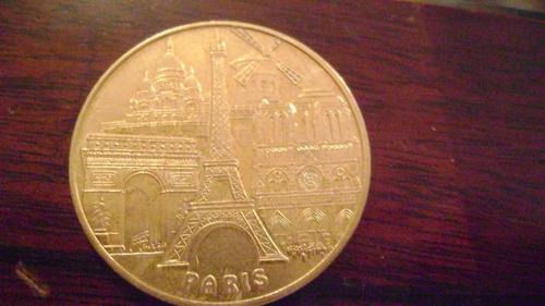 moneda coleccionable medalla