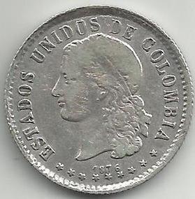74e292211d1e Moneda En Plata Ley 0900 - Billetes y Monedas en Mercado Libre Colombia