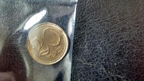 moneda colombia 20 pesos 2007 - (408za