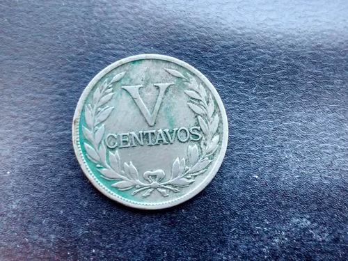moneda colombia 5 centavos 1935 (385z