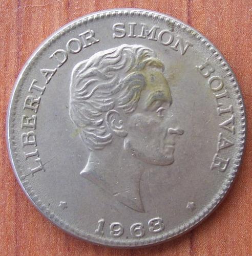 moneda colombia 50 cent 1963 error giro 30 g and die cracks