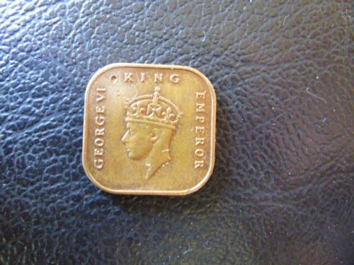 moneda colonia inglesa malaya  1 centavo 1943 (363z