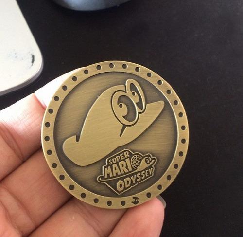 moneda commemorativa coleccion super mario odyssey