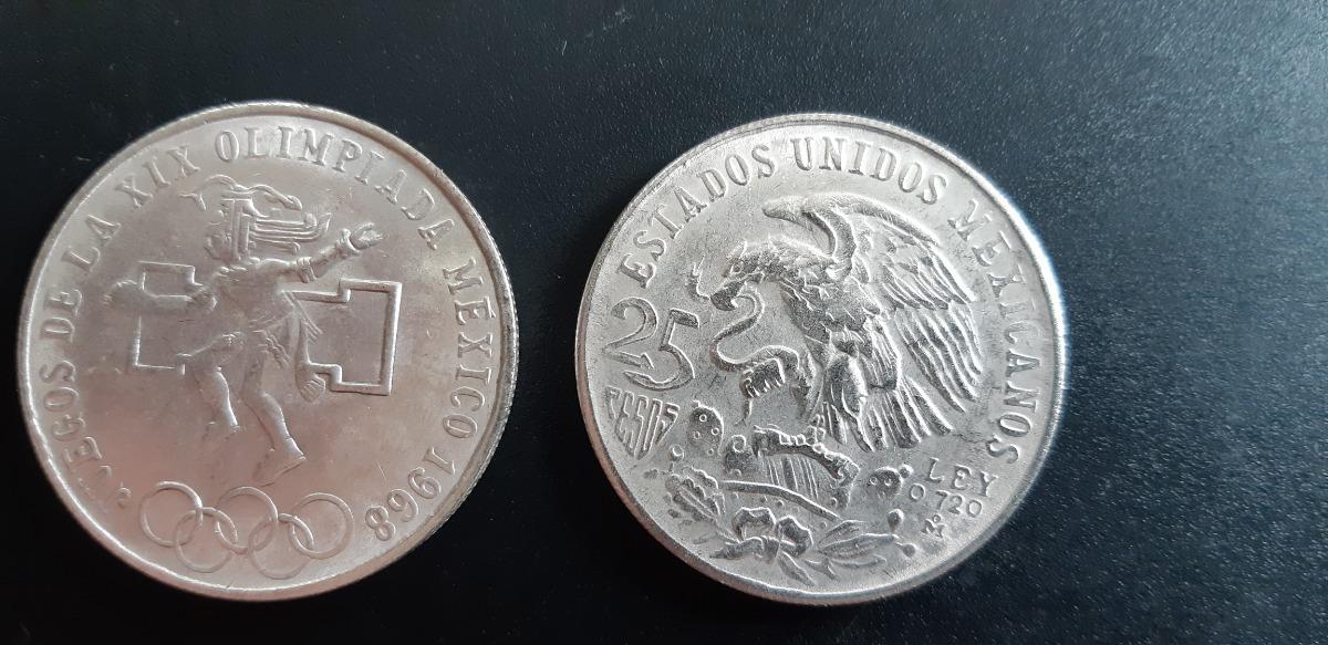 Moneda Conmemorativa Juegos Olimpicos 1968 600 00 En Mercado Libre