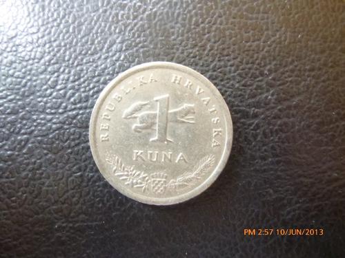 moneda croacia 1 kuna 1993 (156z