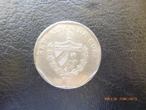 moneda cuba 1 peso 2007 (a28 -187z