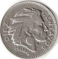 moneda de 10 centavos de colombia 1810 - 1960