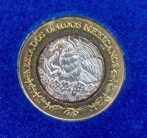 moneda de 10 nuevos pesos