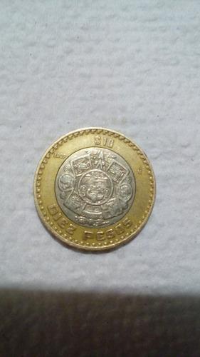 moneda de 10 pesos con error