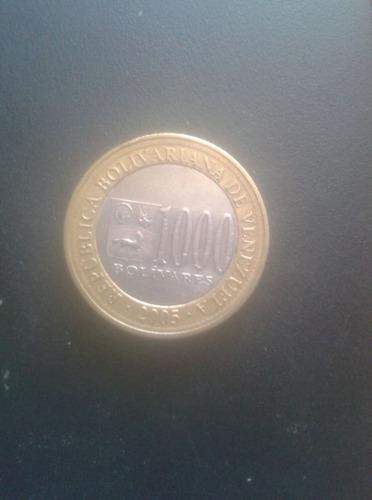 moneda de 1000 bs año 2005