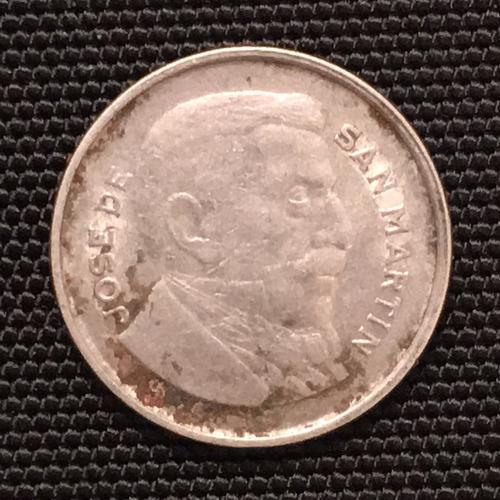 moneda de 20 centavos 1956 argentina