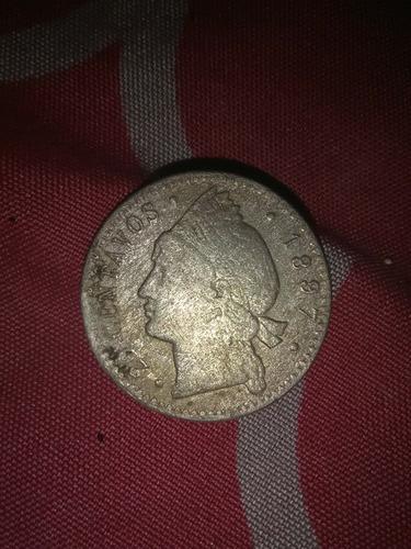 moneda de 20 centavos de 1897