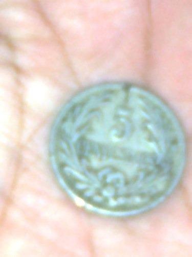 moneda de 5 centecimos - uruguaya