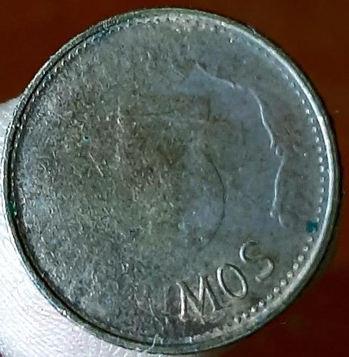 moneda de 5 céntimos de cobre descontinuada