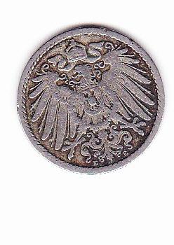 moneda de 5 pfennig 1894 alemania