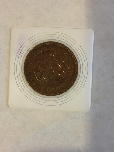 moneda de 50 centavos  antigua de mexico 1956