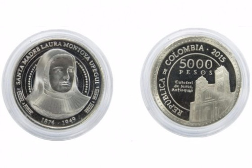 moneda de 5000 pesos hermana laura