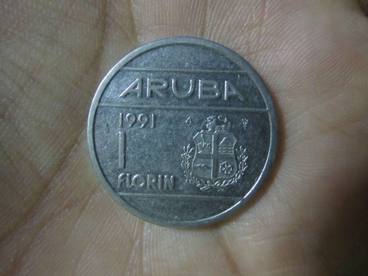 Moneda De Aruba 1991 Cargando Zoom