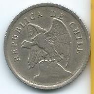 moneda  de  chile  20  centavos  1924  muy  buena  y  barata