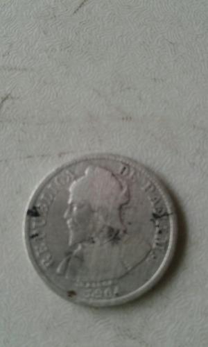 moneda de cinco centecimos de balboa 1904 es muy extraña.