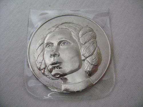 moneda de coleccion 2005 lucas film star wars princesa l
