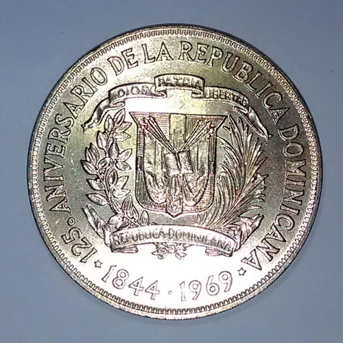 moneda de coleccion domimicana