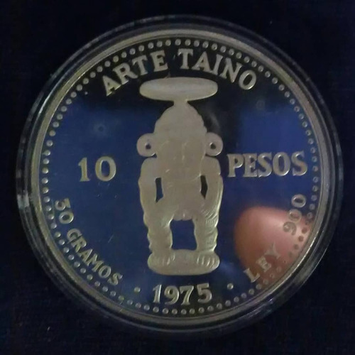 moneda de coleccion dominicana