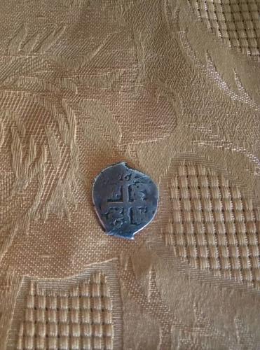 moneda de coleccion muy antigua macuquina de 1749