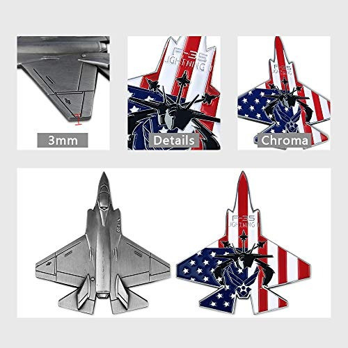moneda de combate de aviación militar de la fuerza aérea de