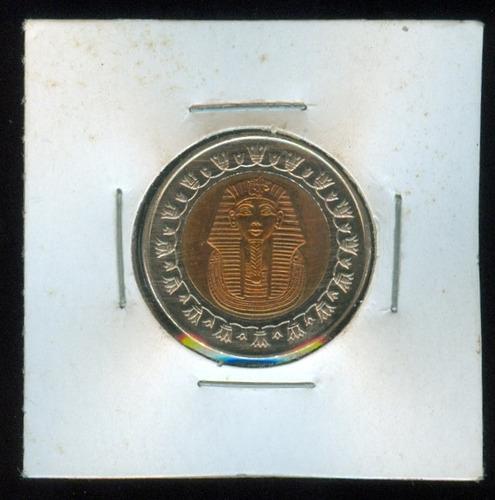 moneda de egipto 1 pound tutankamon.