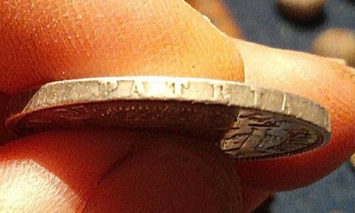 moneda de españa  isabel 2 1 escudo 1866 de plata
