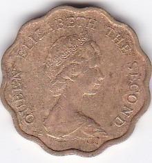 moneda de hong kong! 20 cents 1982