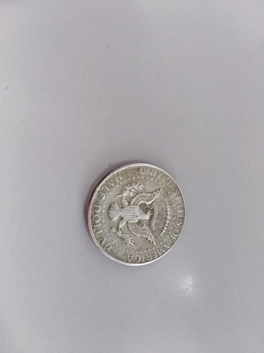 moneda de medio dolar americano jf kennedy