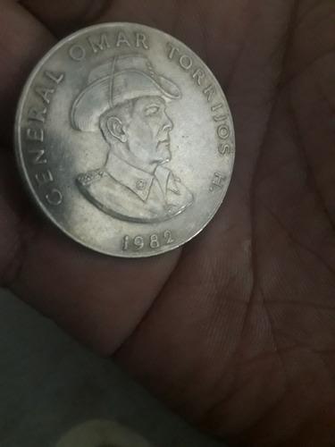 moneda de omar torrijos de 1982