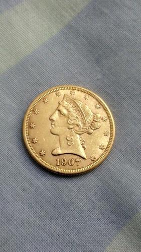 moneda de oro (2) caciques de venezuela
